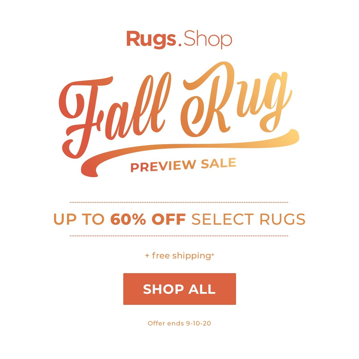 Fall Rug Preview Sale | Direct Carpet Unlimited