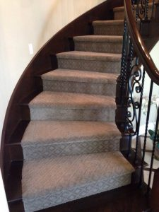 Carpet color combination Staircases | Installation Galley | Direct Carpet Unlimited