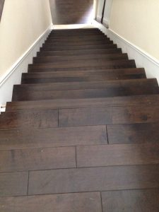 Staircases flooring | Installation Galley | Direct Carpet Unlimited