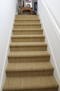 Variety of carpet used on Staircase | Direct Carpet Unlimited