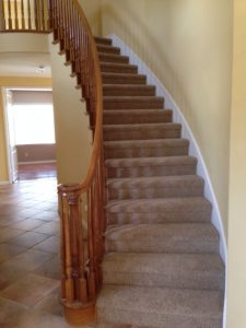Staircase flooring | Direct Carpet Unlimited