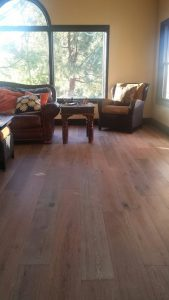Elegant and classy, hardwood floors | Installation Galley | Direct Carpet Unlimited
