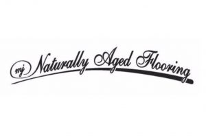 Naturally aged flooring logo | Direct Carpet Unlimited