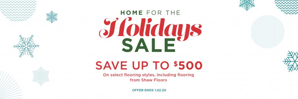 Home for the holidays sale | Direct Carpet Unlimited