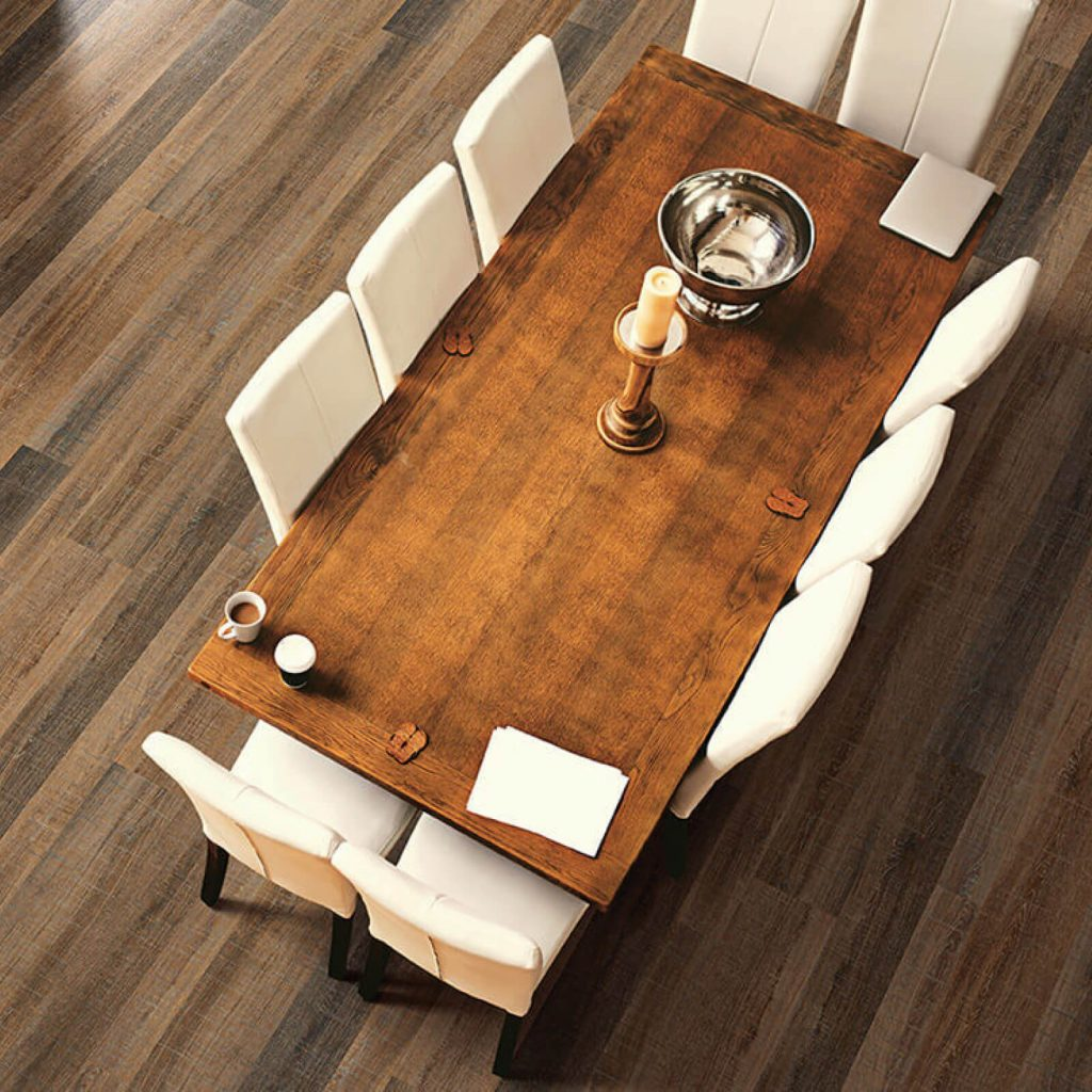 Dining room flooring | Direct Carpet Unlimited