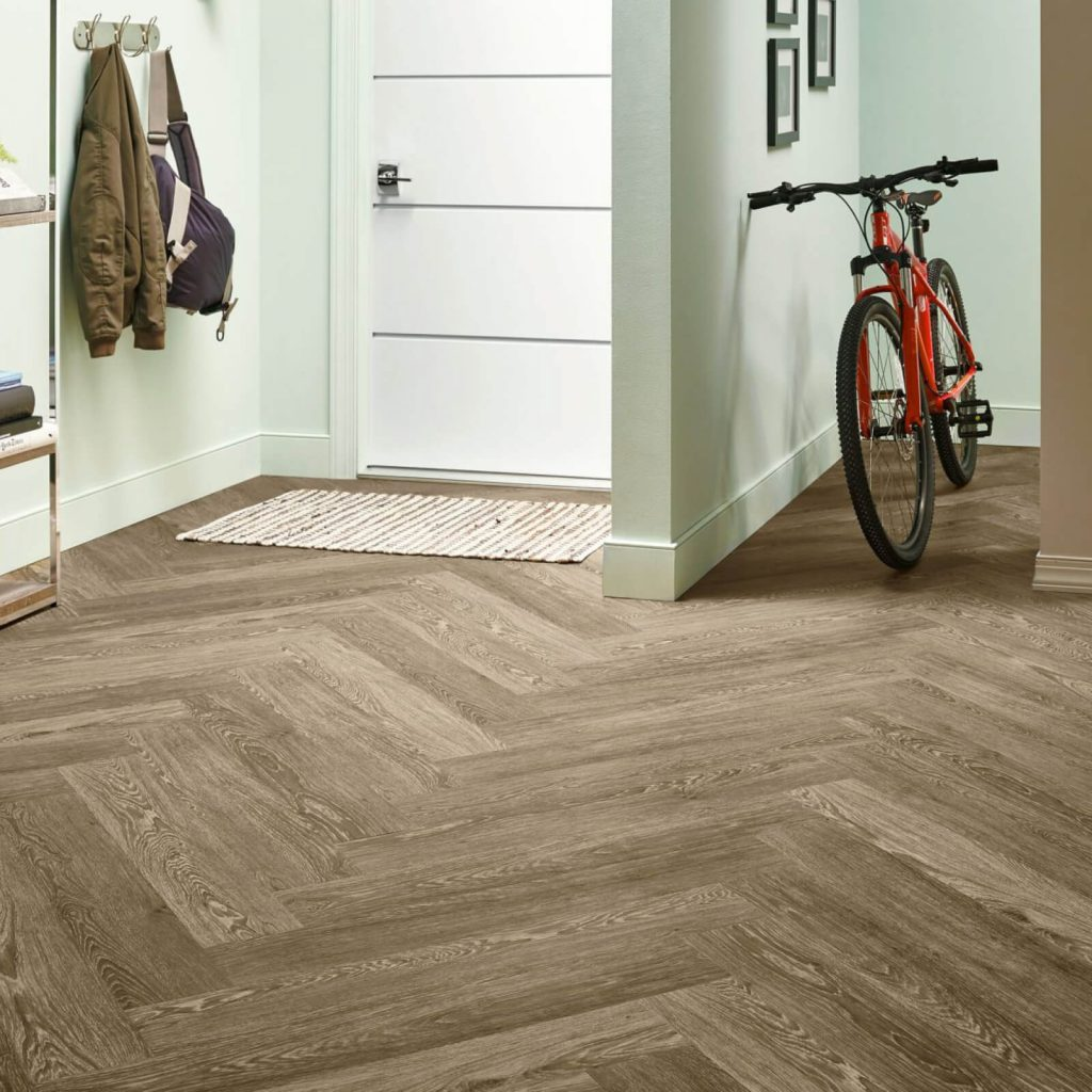 Bicycle on flooring | Direct Carpet Unlimited