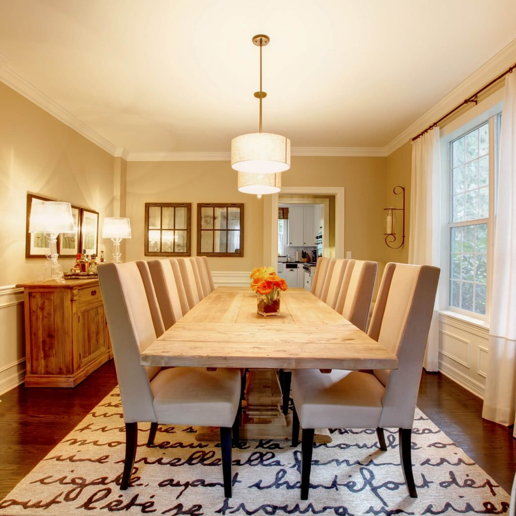 Choosing the Best Rug for Your Dining Room | Direct Carpet Unlimited