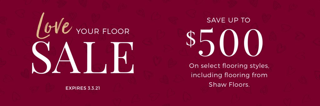 Love Your Floor Sale | Direct Carpet Unlimited